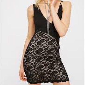 Free People Dresses - NEW Free People Lower East Side Lace Mini Dress